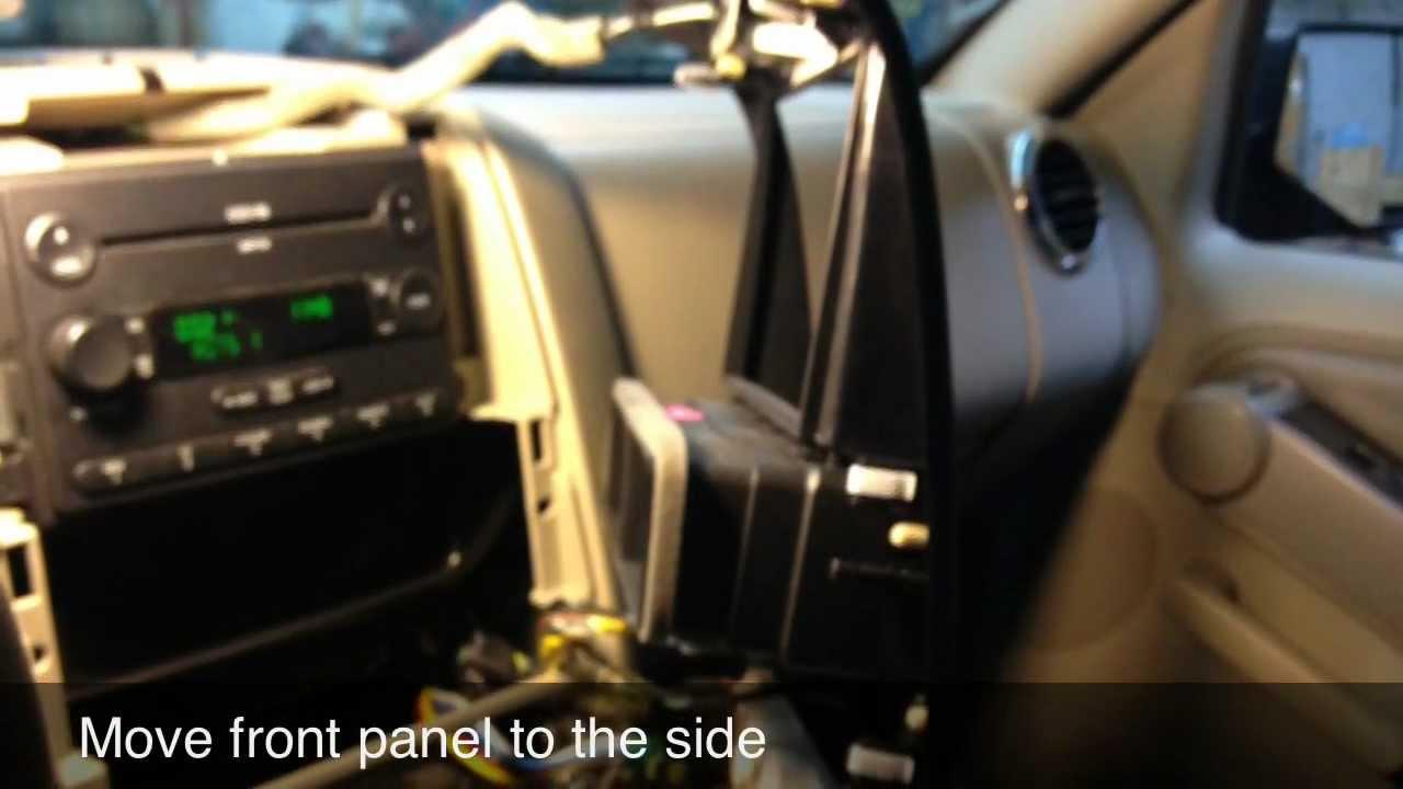 Remove Stereo 2006 Ford Explorer
