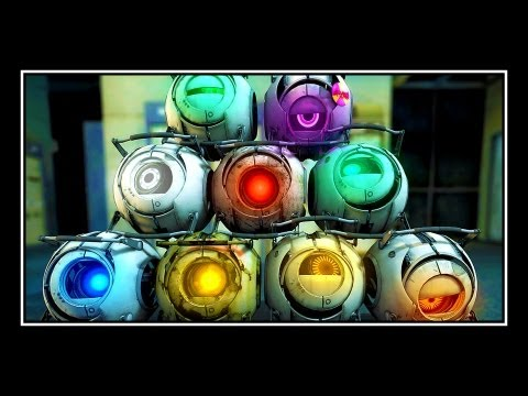 Portal 2 - Meet The Cores