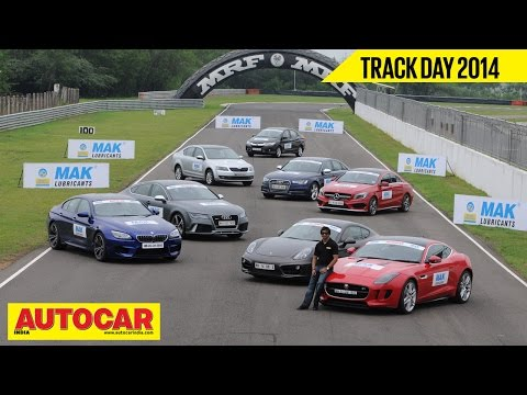 Autocar Trackday 2014 With Narain Karthikeyan | Autocar India