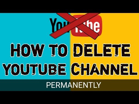 How To Delete Youtube Channel || From  Any Android Mobile And Computer || By Tech Narmis