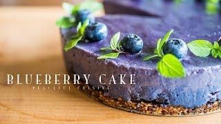 Blueberry Cake (vegan) ☆ ブルーベリーケーキの作り方