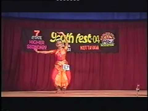 sithara  dance - secured first place in bharathanatyam at state youth festival 2004, kottayam
