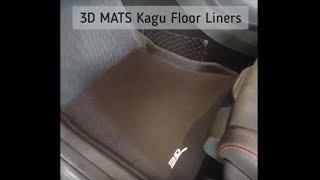 3D Mats Kagu Floor Liners in Mercedes-Benz GLA
