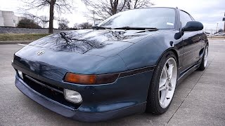 1991 Toyota MR2 // Review! (JDM 3SGTE!)