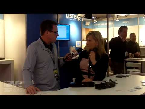 ISE 2015: Gary Kayye Speaks with Cory Schaeffer, VP of Business Development at Listen Technologies