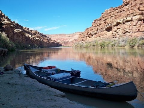 Canoeing The Green River - Canyonlands Natl. Park - Into Stillwater Canyon