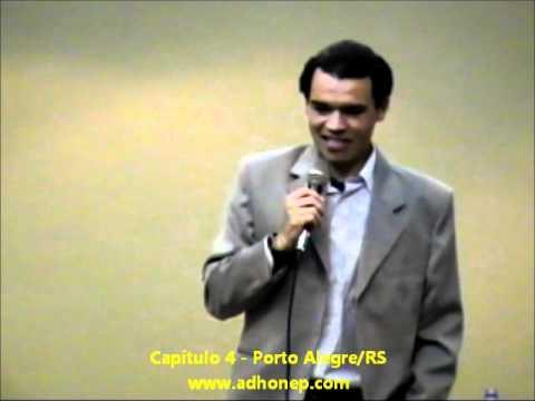 Testemunho do Ceará, Jogador de Futebol e Campeão do Mundo pelo Sport Club Internacional, no capítulo 4 da Adhonep de Porto Alegre/RS, em 06/08/2007. O nome do Ceará é Marcos Venâncio...