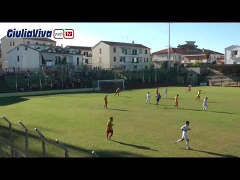 Giulianova Agnonese 2° tempo stadio Rubens Fadini 28 settembre 2014
