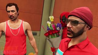 DEADPOOL'S HOT DATE! (GTA 5 Funny Moments Superhero Cinematic)