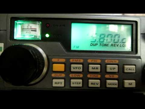 Amateur Radio International Space Station Contact heard on 145.800 Mhz 0954 7th Sept 2012
