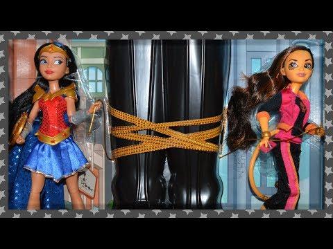 DC Super Hero Girls | Wonder Woman & Cheetah | SDCC 2017