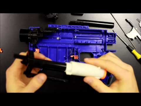 Unleashed Solid Stage 3 Installation for Nerf Retaliator by Orange Mod Works