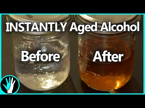 Instantly Age Alcohol in Just 30 Minutes