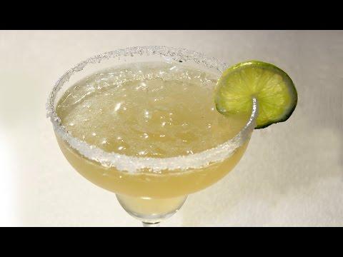 Receta. Coctel Margarita.