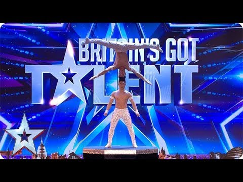 FIRST LOOK: The Giang Brothers' EXTRAORDINARY show of strength | BGT 2018