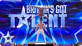 FIRST LOOK: The Giang Brothers' EXTRAORDINARY show of strength   BGT 2018