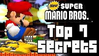 New Super Mario Bros TOP 7 SECRETS (DS)