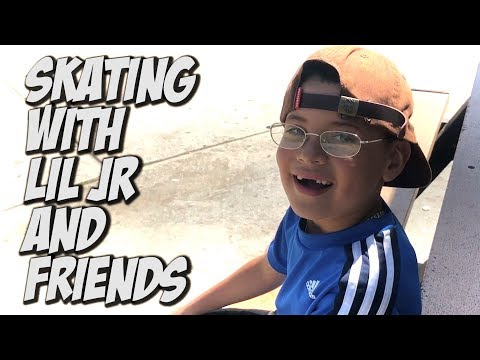 SKATING WITH LIL JR AND FRIENDS !!! - NKA VIDS -