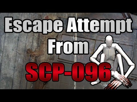 Escape Attempt From SCP-096! - SCP Containment Breach V.0.6.5