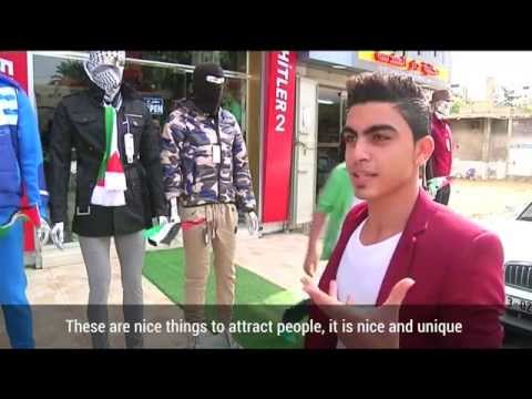 Gaza: Hitler 2 clothing store puts Palestinian knife-wielding mannequins on display
