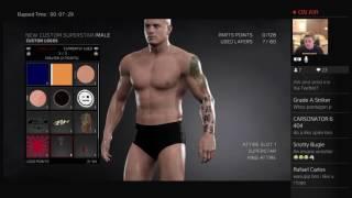 WWE 2K17 Creation: Pentagon Jr.
