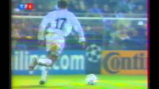 1996 December 4 Auxerre France 2 Rangers Glasgow Scotland 1 Champions League