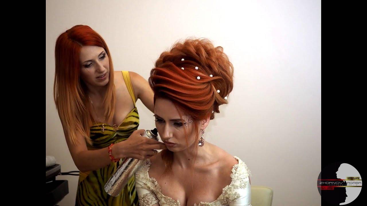 прически видео русских стилистов