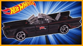 HOT WHEELS TV SERIES BATMOBILE (BATMAN) *REVIEW*