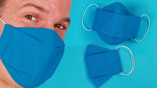 How to SEW a Medical FACE MASK - Face Mask Cover