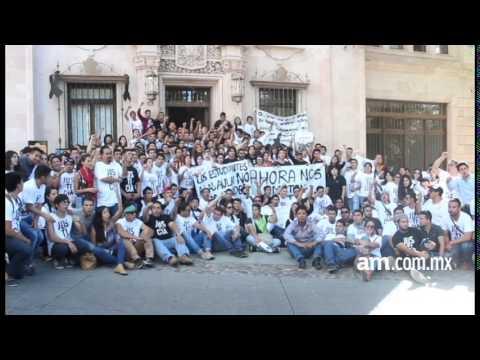 Exigen no criminalizar a estudiante muerto en Cervantino