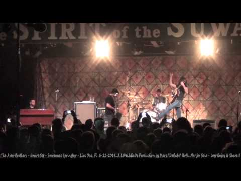 The Avett Brothers - Entire Set - Suwannee Springfest - Live Oak, Fl  3- 22- 2014
