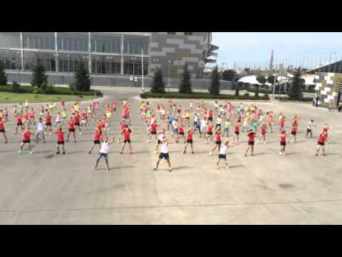 Baku Azerbaijan Flash Mob!