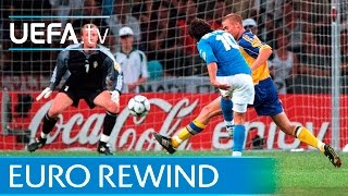 EURO 2000 highlights: Italy 2-1 Sweden
