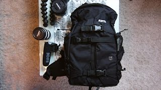 Burton Zoom Pack Review (Stylish DSLR Camera Bag & Video Backpack)