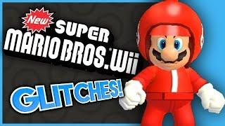 New Super Mario Bros. Wii GLITCHES! - What A Glitch!