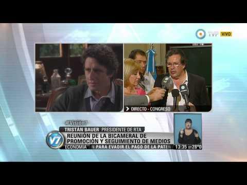 Visión 7 -  Informe de Radio y Televisión Argentina ante el Congreso (2)