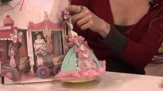 How To Make A Marie Antoinette Paper Doll