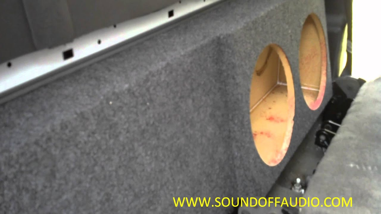 Chevy crew cab hd subwoofer box 2000 2006 youtube