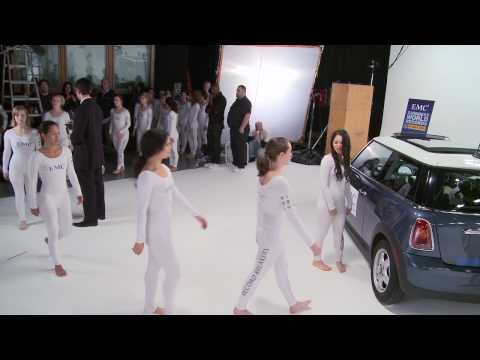 Pilobolus and EMC Guinness World Record - Mini Cooper