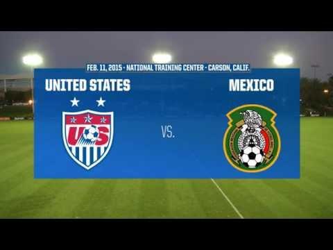 2015 Under-17 Women's NTC Invitational: USA vs. Mexico