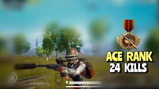 Ace Rank vs Izzo   PUBG Mobile   Aggressive 24 KILLS