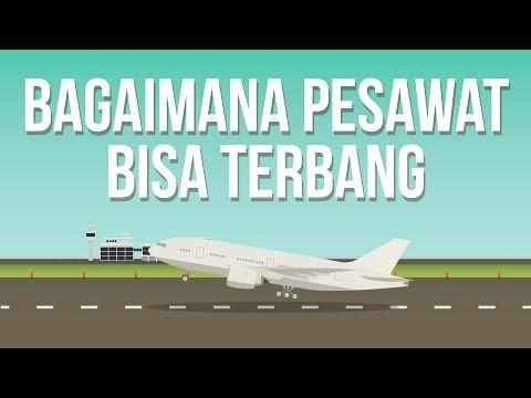 Kenapa Pesawat Bisa Terbang?
