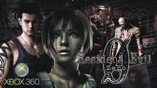 Resident Evil Zero 0 HD Xbox 360 - Remaster (Remasterizado)  Gameplay