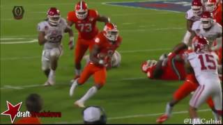 Wayne Gallman vs. Oklahoma (2015)