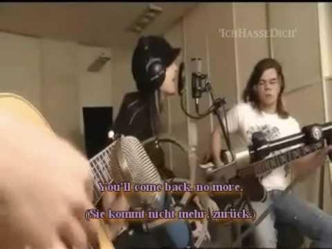 Tokio Hotel - Stich Ins Gluck Acoustique