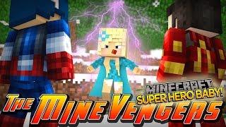 Minecraft Adventure - FINDING A SUPER HERO BABY!!!