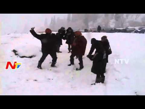Heavy Snowfall in Jammu and Kashmir