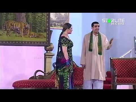 Zafri Khan and Kodu New Pakistani Stage Drama Full Comedy Funny Clip