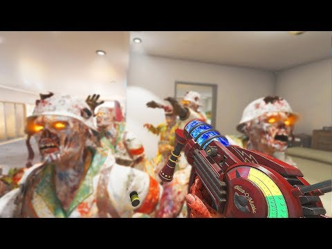 INTENSE STUDIO APARTMENT ZOMBIES CHALLENGE! (Call of Duty Black Ops 3 Zombies)