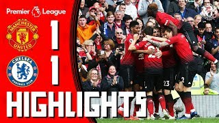 Highlights | Manchester United 1-1 Chelsea | Premier League
